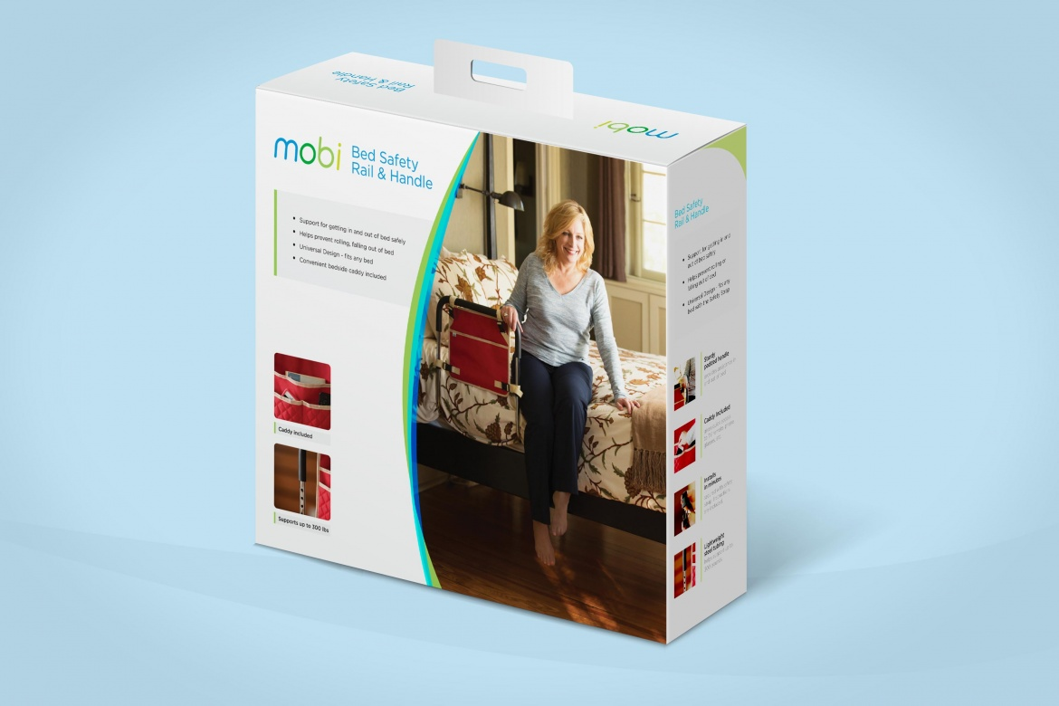 Juvo Movi bed rail package design front