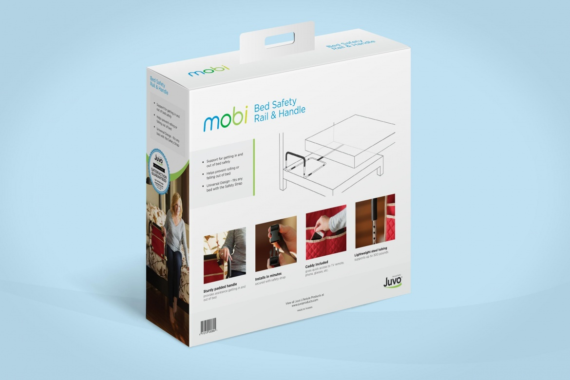 Juvo Movi bed rail package design back